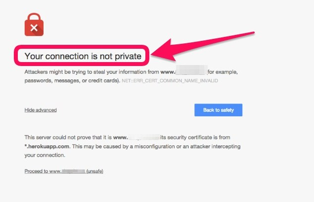 Your-connection-is-not-secure-Google-Chrome – Codewing Solutions